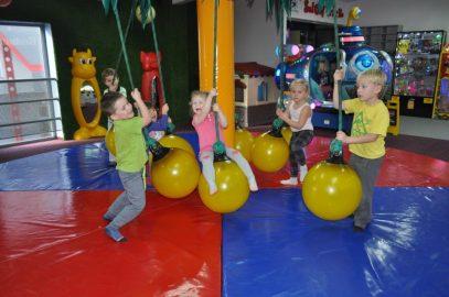 Wycieczka do sali zabaw WMB Leszno 3 i 4 latki