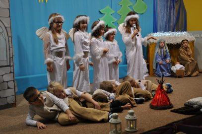 Jasełka grupa 6 latki BIEDRONKI